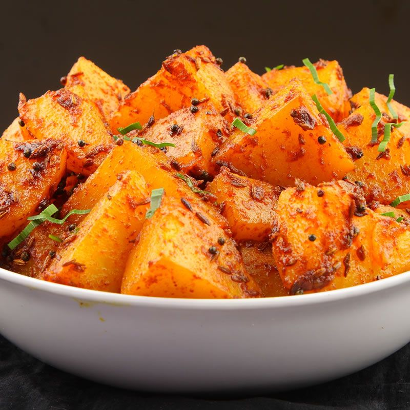 chief's bombaytastic potatoes